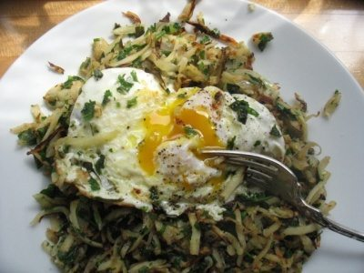 parsnip-parsley-hash-with-egg